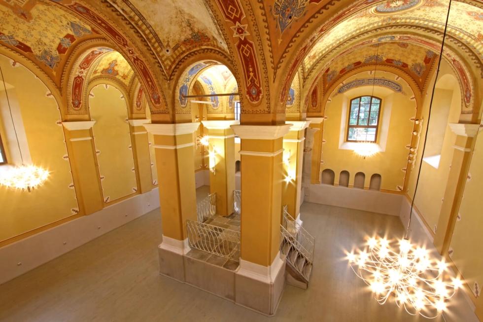 Stara synagoga Bardejov bellatrix svietidla