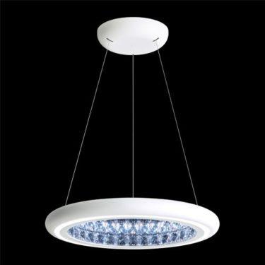 Moderné lustre LED svietidlá Infinite Aura