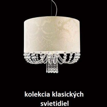 výpredaj -60% klasické svietidlá do interiéru