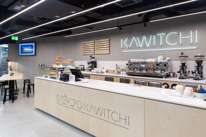 Bratislava svietidla do kaviarne Kawitchi, interier