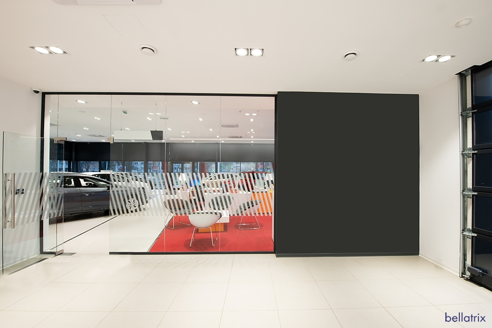 showroom SEAT svietidla BELLATRIX
